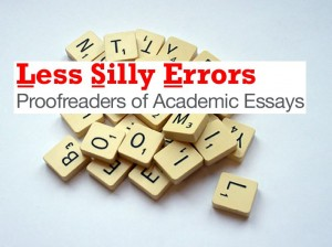 The Less Silly Errors Proofreading Company